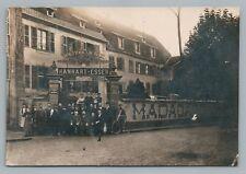 Hanhart-Esser Absinthe Distillery RPPC Thann Alsace—Liquor CPA Photo Antique