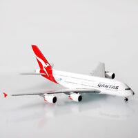 Qantas Airbus A380 VH-OQG 1:400 Scale Die-Cast Model Plane A380 Replica Aircraft