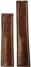 22x18 XL RIOS1931 for Panatime Burnt Chestnut Watch Strap For Breitling Deploy