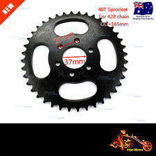 40 Tooth Rear Sprocket for 428 Chain 110 125 140 250cc Dirt Pit Trail Bike ATVs