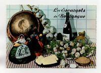 Recette - Les escargots de Bourgogne   (J2337)
