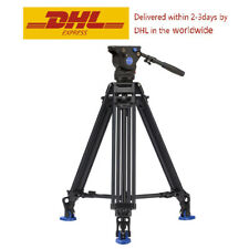 Benro BV6 Video Tripod Professional Auminium Camera Tripods BV6 Video Head