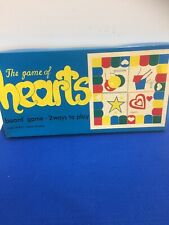 Vintage 1960's Warren Paper Products THE GAME OF HEARTS Sealed Original Box