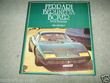 Ferrari Berlinetta Boxer 365 512 serie Mel Nichols NART LE MANS Migault Vetsch