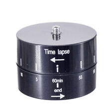 360 Degree Pan Rotating Time Lapse Stabilizer for Camera Mobile Phone P CPUK