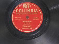 Harry James 78 Moten Swing part 1 / part 2 ~ Columbia VG++ jazz