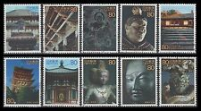 Japan 2820a-j USED Singles from World Heritage Site sheet 7