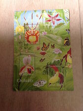 Bloc feuillet 81 de 2005 neuf : Orchidées