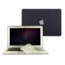 "2 in 1 Rubberized BLACK Case for Macbook AIR 11"" A1370 with TPU Keyboard Cover"