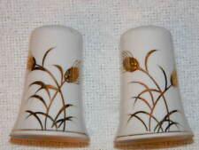 Vintage- Lefton China Salt & Pepper shakers- original stickers, Hand painted