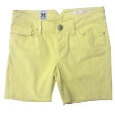 Missoni Bermuda Denim Shorts Size 26 UK 8>40 IT Yellow rrp £166 Italian Designer