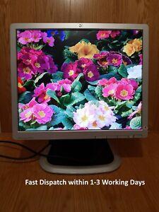 """HP 19"""" inch DVI VGA USB Hub Monitor, HP Compaq LA1951g DVI, VGA DSUB, USB x2"""