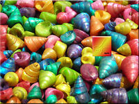 "4oz (800+) Dyed Baby Trochus Micro Shells Tiny 1/4"" Seashells Craft Beach Decor"
