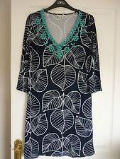 Boden Viscose V-Neck 3/4 Sleeve Dresses for Women