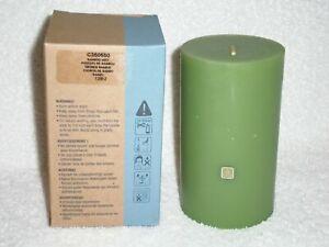 Partylite 3 x 5 Bamboo Mist Pillar -- RETIRED
