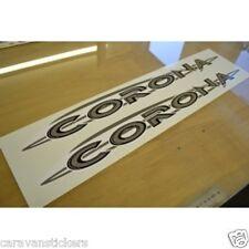 COMPASS Corona - (PRINTED) - Caravan Name Stickers Decals Graphics - PAIR