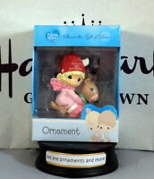 Precious Moments 2016 Baby's First Girl Christmas Tree Ornament New