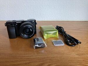 Sony Alpha A6000 Mirrorless Digital Camera With 16-50mm Lens (Very Light Usage)
