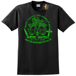 Frog Brothers Lost Boys Inspired Mens or Ladies T shirt Santa Carla Vampire Film