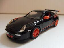 Porsche 911 GT3 RS Noir KINSMART 1/36 Diecast NEUF
