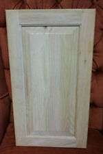 "Solid Oak Cabinet Doors, overall size 12.25""x 21.75""x.75"", overstock, unfinished"
