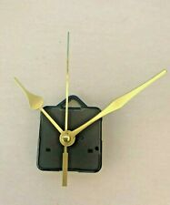 Clock Movement - Quartz Gold Sweeping Hands - AA Battery Powered - Mechanism UK