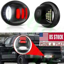 RED Neon Tube LED License Plate Tag Light Lamp For Ford 1999-2016 F150 F250 F350