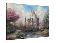 "Disney Castle Canvas Wall Art ""20x30"" INCHES"