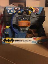 3f14cd5af2c4 Mattel Hot Wheels City DC Comics Batman Batcave Track Playset NIB Sealed