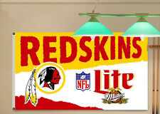 Lite Miller Washington Redskins Beer flag Banner 3X5Feet