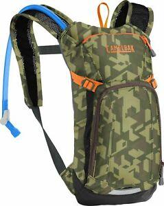CamelBak MINI MULE 50oz/1.5L Kids Hydration Backpack Camouflage/Orange