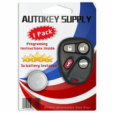Replacement For Saturn Sc1 Sc2 Sl Sl1 Sl2 Sw2 2000 2001 2002 Remote Keyless Fob