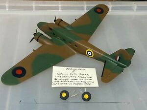 Boeing 247D, 1/72, built & finished for display, fine, airbrushed