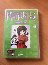 RANMA 1/2  dvd 1 ottimo stato FABBRI  4 ep + EXTRA