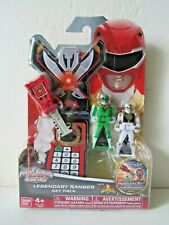 Power Rangers Super Megaforce Mighty Morphin Legendary Ranger Key Pack A Red//Blue//Black Bandai 38260
