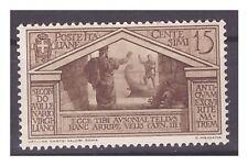 REGNO 1930 - VIRGILIO   Centesimi 15   NUOVO **