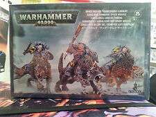 WARHAMMER 40K SPACE WOLVES THUNDERWOLF CAVALRY 28MM NEW & SEALED