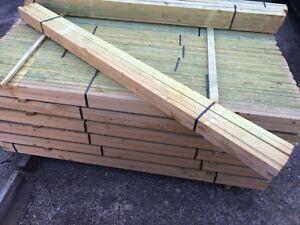 Frei Haus! 12 Dachlatten 2 Meter Lattung 4x6cm Bauholz 40 x 60 mm Latten 40x60mm