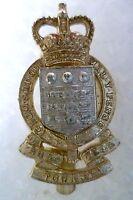 Staybrite-Royal Army Ordnance Corps Regimental Cap Badge, QC GAUNT (A/A 100%ORG)