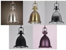 Industrial Vintage Ceiling Pendant Lamp Metal Glass Hanging Light Ceiling Lights