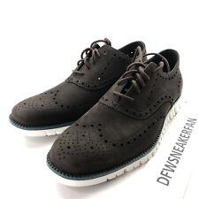 Cole Haan Zerogrand Wingtip Oxford Dark Roast Brown Shoes C29769 Men's 10.5 New