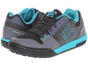 New Women's Five Ten 5.10 by Adidas Freerider Contact Shoes Size 7 Black/Teal
