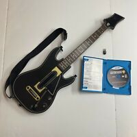Guitar Hero Live Nintendo Wii U Bundle W/ Guitar, Dongle, & Game -Tested & Works