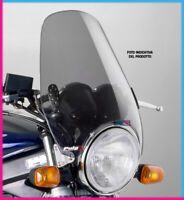 PUIG WINDSHIELD CUSTOM II KAWASAKI W800 11-16 LIGHT SMOKE