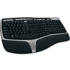 Official Microsoft QWERTY Natural Ergonomic Keyboard 4000 - Black (B2M-00008)