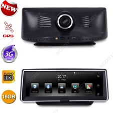 "Android 8"" HD 1080P Car DVR Dash Cam Video Camera Recorder GPS Sat Navi 3G Wifi"