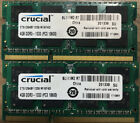 Crucial 8GB (4GBx2) DDR3-1333 CT51264BF1339.M16FKD SODIMM PC3-10600  RAM picture