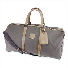 Dunhill Boston bag Grey Woman unisex Authentic Used T7380