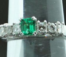 VVS2 Sehr gute Echte Diamanten-Ringe im Solitär mit Akzentsetzung-Stil