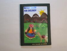 SEVEN TALES FOR CHILDREN by Dely Triveno de Garcia 2008 HAND-CRAFTED COVER ART